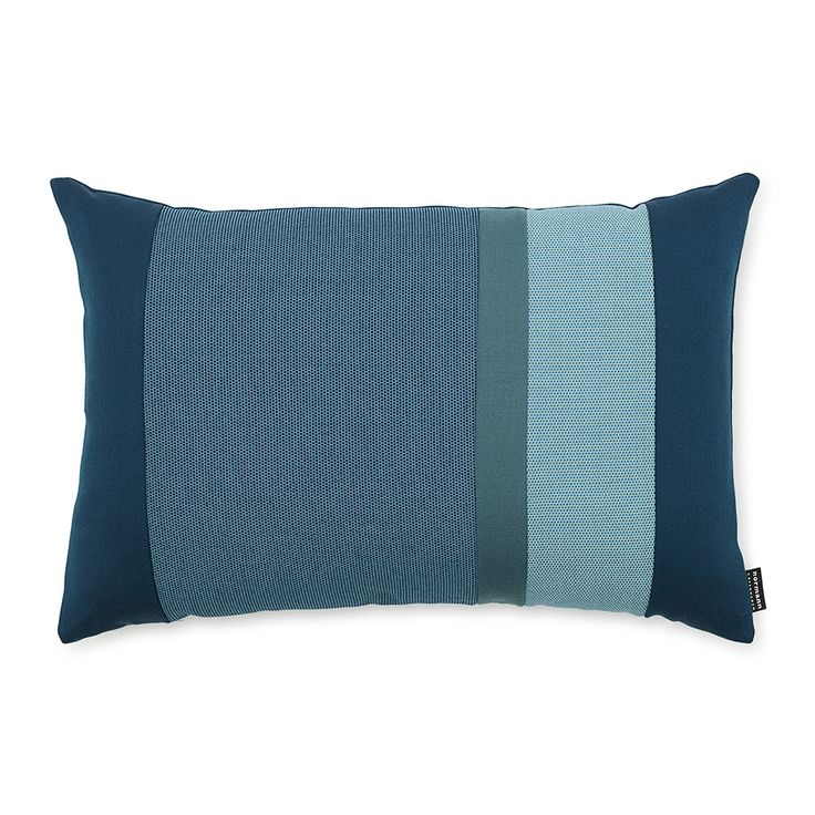 Discover the Normann Copenhagen Line Cushion - 40x60cm - Turquoise at Amara