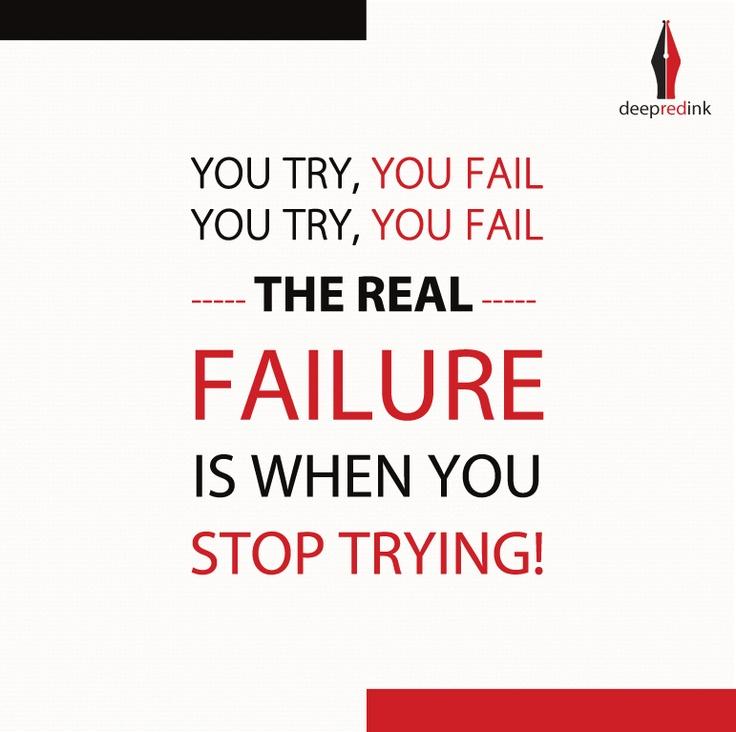 #Fail #Failure