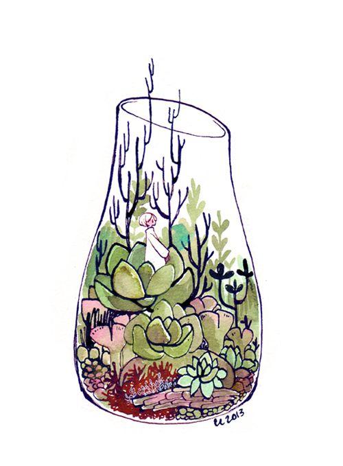 terrarium 2 by koyamori on deviantART <--- I love their art so much