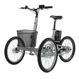 Triciclo eléctrico para adultos Etnnic Tribike frontal #triciclo #movilidad #comodidad #ortopedia #ortopediaplus #seguridad #tricycle #Health #sports #cycling #cool #segurity