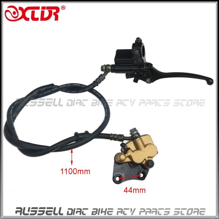 34.02$  Watch now - http://alif81.shopchina.info/go.php?t=32789173658 - Front Disc Hydraulic Brake Assembly Caliper Master Cylinder and Brake pad For Dirt Pit Pro Bike Coolster 110 125 150 CC 34.02$ #aliexpressideas