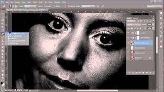 Removing blemishes and smoothing skin in Photoshop...an overview of the steps involved in this process.