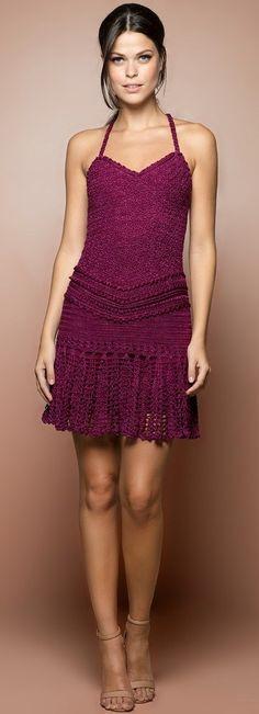 #Farbbberatung #Stilberatung #Farbenreich mit www.farben-reich.com Vanessa Montoro crochet dress 20 saves ...