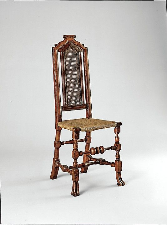 1710-1730 American (Massachusetts) Side chair at the Metropolitan Museum of  Art, - 194 Best Never Met A Chair I Didn't Like! Images On Pinterest