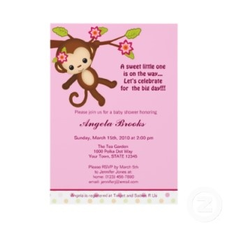 dcd2ea58d156cad333dc74189cc40d6e monkey baby showers jungle baby showers 105 best baby shower invitations images on pinterest,Girl Jungle Baby Shower Invitations