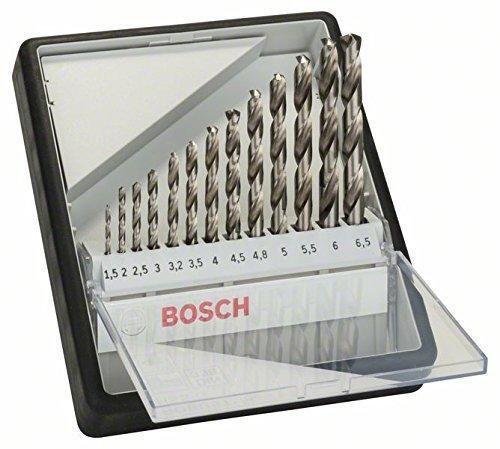 Oferta: 17.5€ Dto: -51%. Comprar Ofertas de Bosch 2 607 010 538  - Set de 13 brocas para metal Robust Line HSS-G, 135° - 1,5; 2; 2,5; 3; 3,2; 3,5; 4; 4,5; 4,8; 5; 5,5; 6 barato. ¡Mira las ofertas!