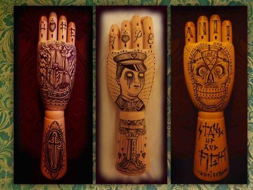 Cool tattoo style artwork