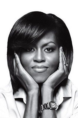 First Lady Michelle Obama. Grace, poise, style, beauty, heart, intellect, and soul.