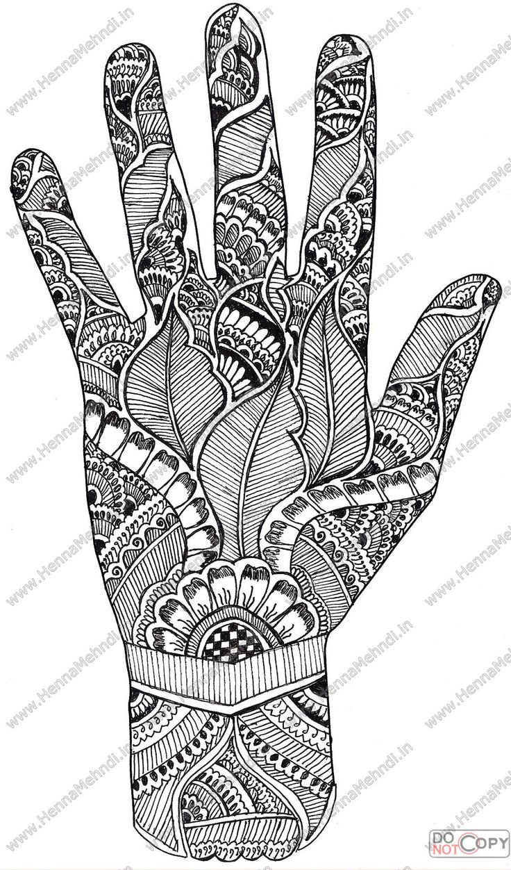 hawaiian Designs And Patterns | Colorful Mehndi Hand Patterns Fillings Henna Designs Pictures