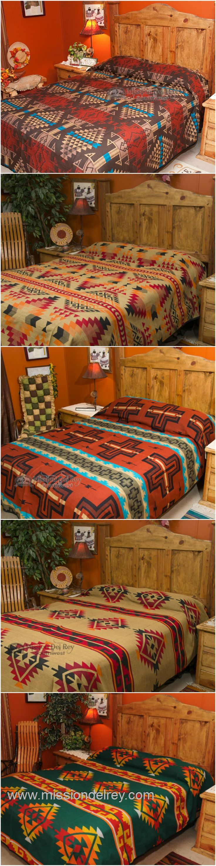 Brown and orange bedding - Southwestern Bedspreads Comforter Sets And Western Bed Spreads With Native Designs Are Perfect Southwest Decor