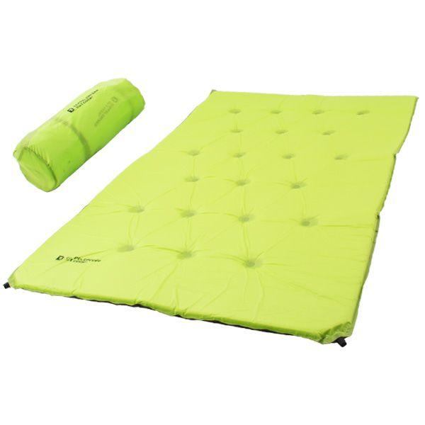 DOPPELGANGER OUTDOOR (ドッペルギャンガーアウトドア) 略してDOD。  使い方は自由自在。2人用サイズの特大マット。  #キャンプ #アウトドア #テント #タープ #チェア #テーブル #ランタン #寝袋 #グランピング #DIY #BBQ #DOD #ドッペルギャンガー