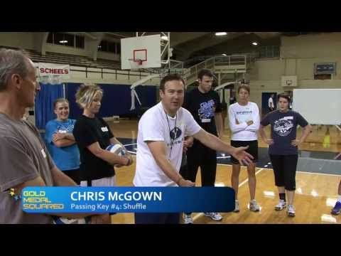 Passing Key #4 - Gold Medal Squared Volleyball - YouTube