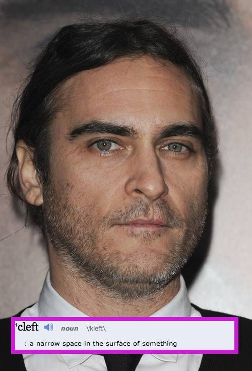 6 Celebs With Cleft Lips! Have You Ever Even Noticed?! http://perezhilton.com/2014-06-13-gallery-7-celebs-with-cleft-lips-joaquin-phoenix