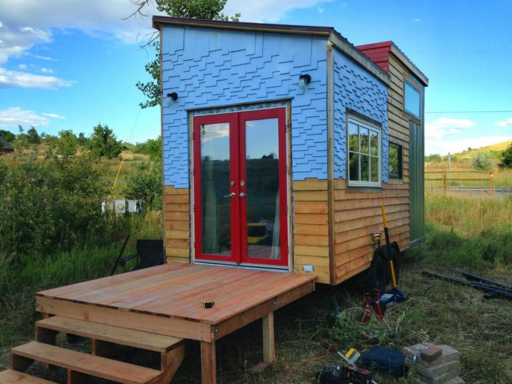 17 best images about shed roof tiny home on pinterest for Shed roof tiny house