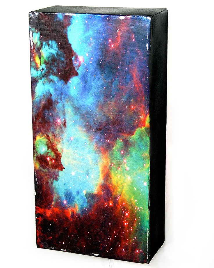 Diy Galaxy Wall Decor : Best images about backlit canvas on oil