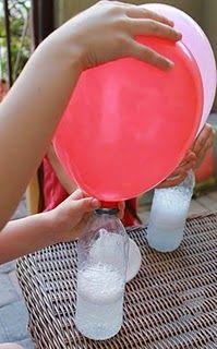 Truco para que los globos vuelen sin usar helio