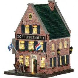 De koffiebranderij uit Dokkum, een wens voor het kerstdorp, een herinnering van vroeger dat Beppe hierover vertelde