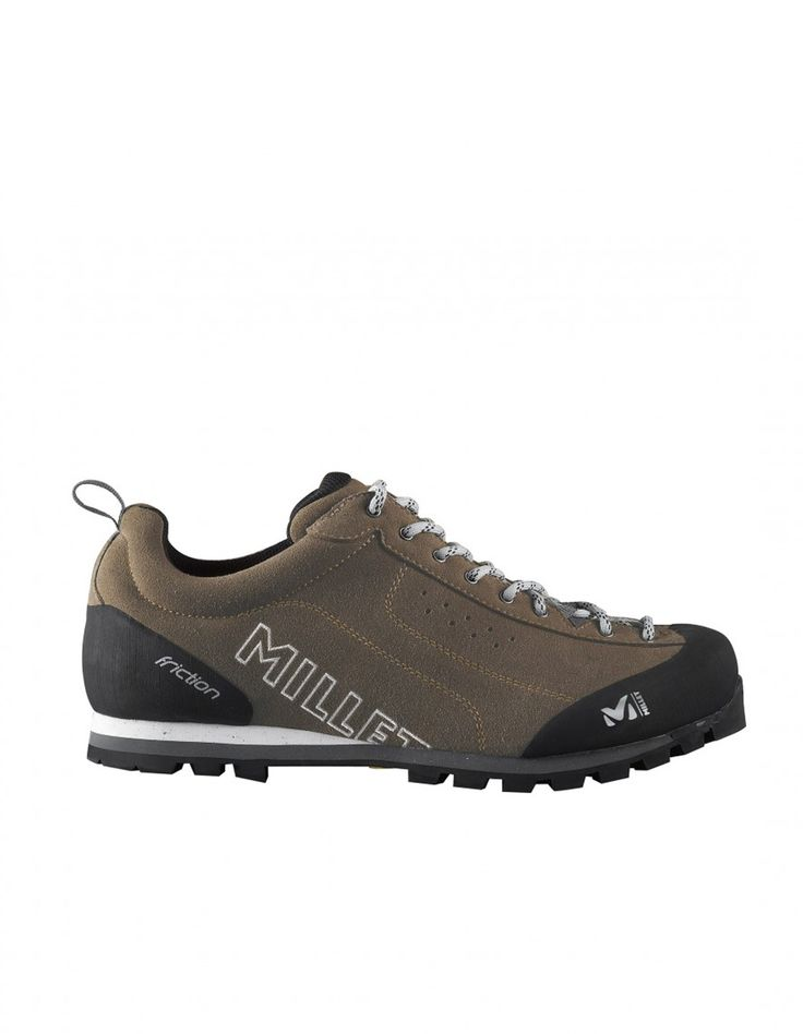 Friction Brown Millet : Chaussures randonnée homme : Snowleader