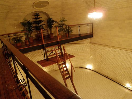 Biltmore Estate Interior Indoor Swimming Pool That Holds 70 000 Gallons Of Water When Filled