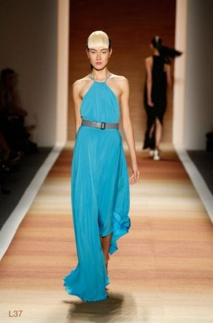 Love the color! CZAR By Cesar Galindo at New York Fashion Week Fall 2013