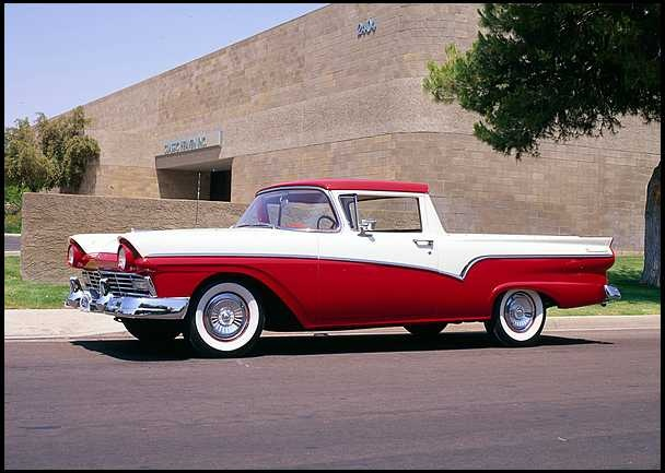 1957 Ford Ranchero - I had one of these.