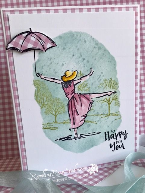 Then there are the times a friend has something so wonderful going on in their life...you just want them to know you are happy for them and send them this card.