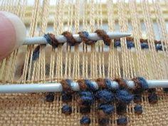 helmipoimintaa2 (Lady Ragtime) Tags: weaving kudonta helmipoiminta poimintatekniikat terrypile looppile