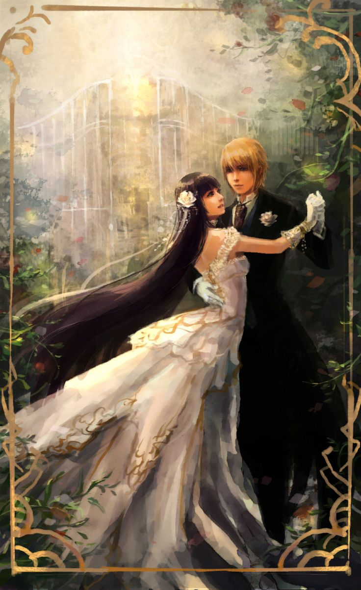 Rose Garden Anime: 233 Best Images About Fantasy Art & Anime On Pinterest