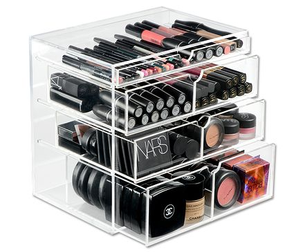 10 images about makeup beauty storage ideas on. Black Bedroom Furniture Sets. Home Design Ideas