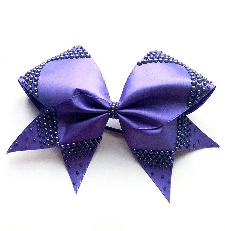 Delphinium Bow. Violetta Collection. KL Bows x