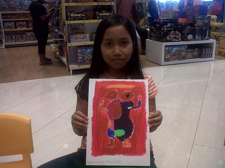 Paul Klee - The Grooms Arrival. Dyah Wiranti @Gramedia Kids Emerald Bintaro