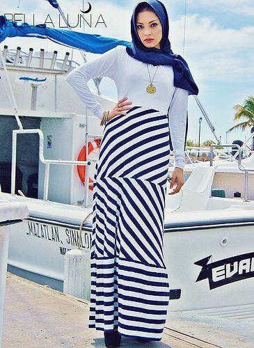 htttp://abayatrade.com muslim fashion magazine  strip design fashion abaya