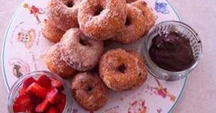 Cinnamon doughnuts