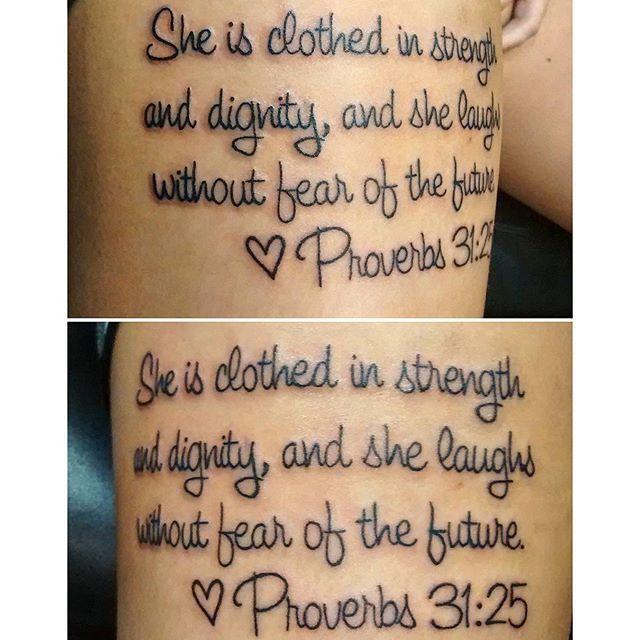proverbs tattoo