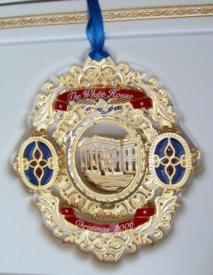 62 best White House Christmas Ornaments images on Pinterest ...