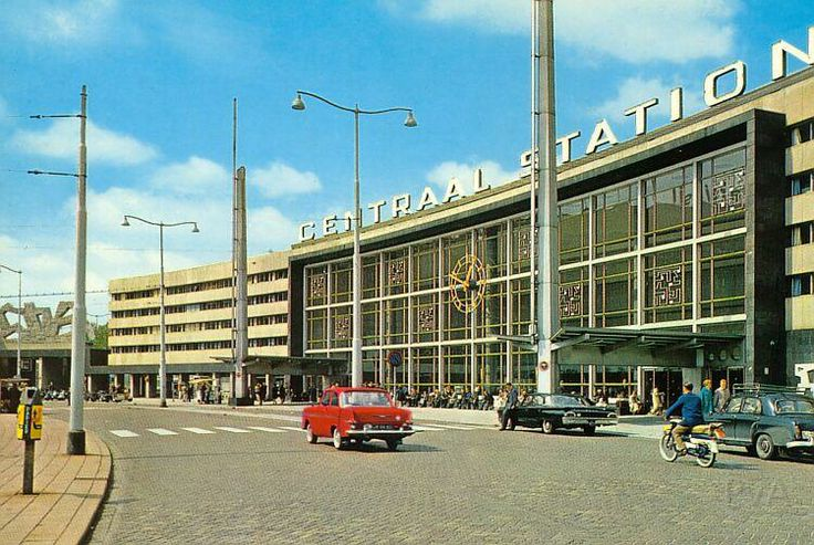 Rotterdam's Central Station in 1964. #greetingsfromnl
