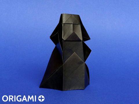 Faire un Dark Vador en origami en seulement 5 minutes