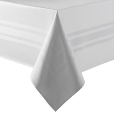 Buy Wamsutta® Classic 70-Inch x 90-Inch Oblong Tablecloth in White from Bed Bath…