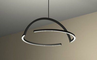 2D LED Pendant by DING3000, for the Italian label Skitsch.