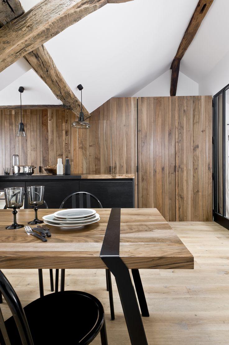 1000 idee su travi a vista su pinterest travi di legno for Idee di casa di piano aperto