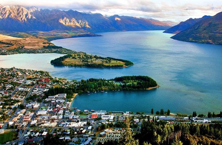 Queens Town, New Zealand