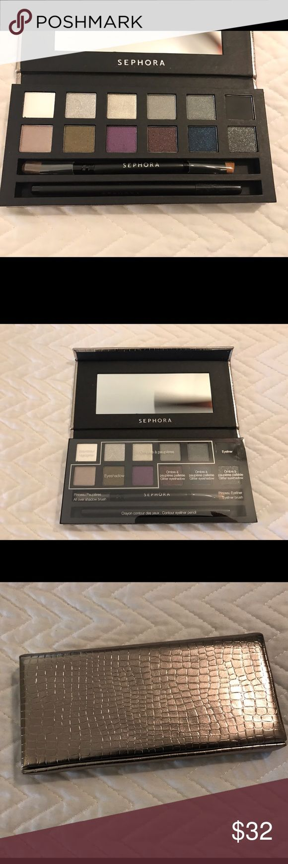 Sephora eyeshadows palette 12 colors New without the box