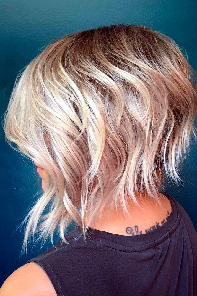 Best 25+ Short Layered Haircuts Ideas On Pinterest