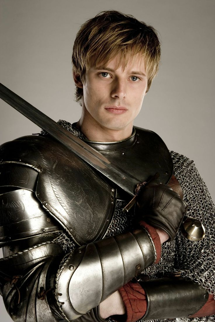 Merlin - Photoshoot for King Arthur portrayed by Bradley James