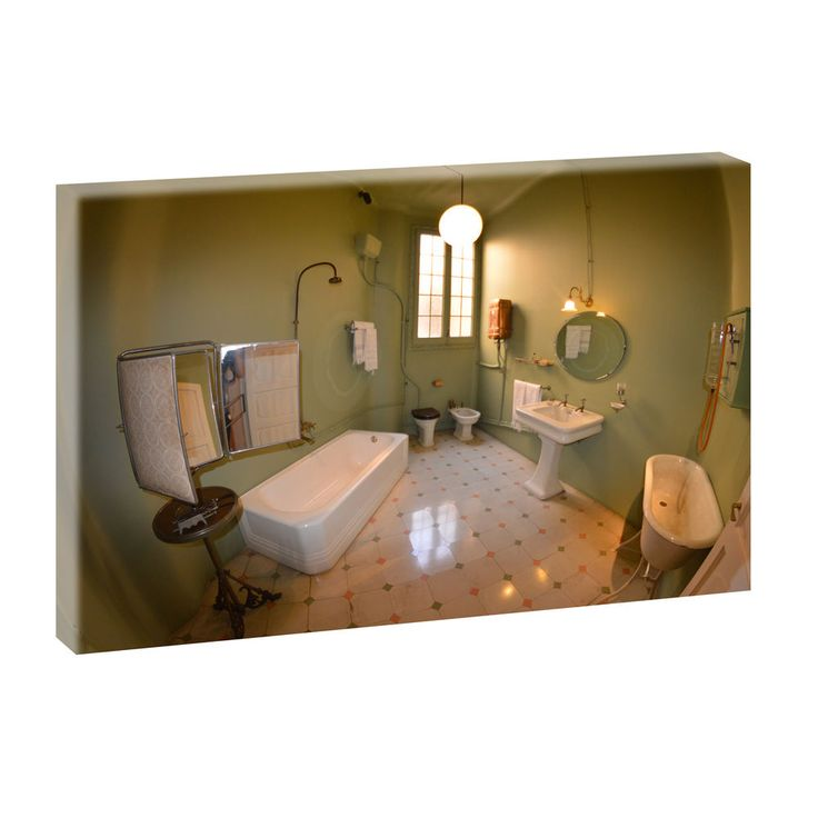 Bilder Keilrahmen Leinwand Fotokunst Badezimmer 2 100cm*65cm XXL 446