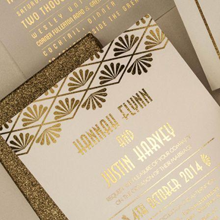 Glamorous Wedding Stationery