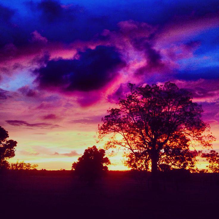 Mareeba Heart Sunset