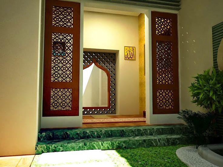 Desain Mushola dalam Rumah Minimalis sebagai rumah ibadah - Gambar dan Foto Rumah Minimalis