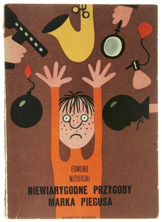 Illus. by Jerzy Flisak for Niewiarygodne przygody Marka Piegusa, 1973 | From the collection of Hipopotam