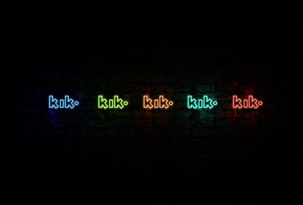 #kik #club #neon #icons  KIK neon icon | Neon icons pack  https://gumroad.com/l/EyAl